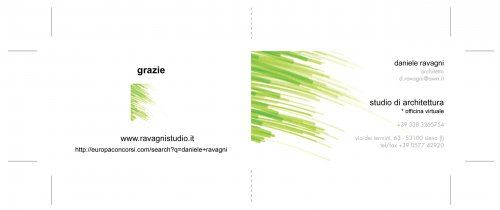 BUSINESS CARD - ravagnistudio*ADR